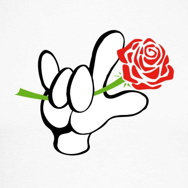 ILY mit Rose