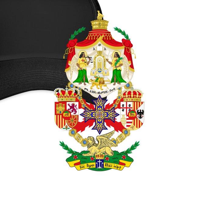 Ethiopian Empire - Coat of Arms - Cap