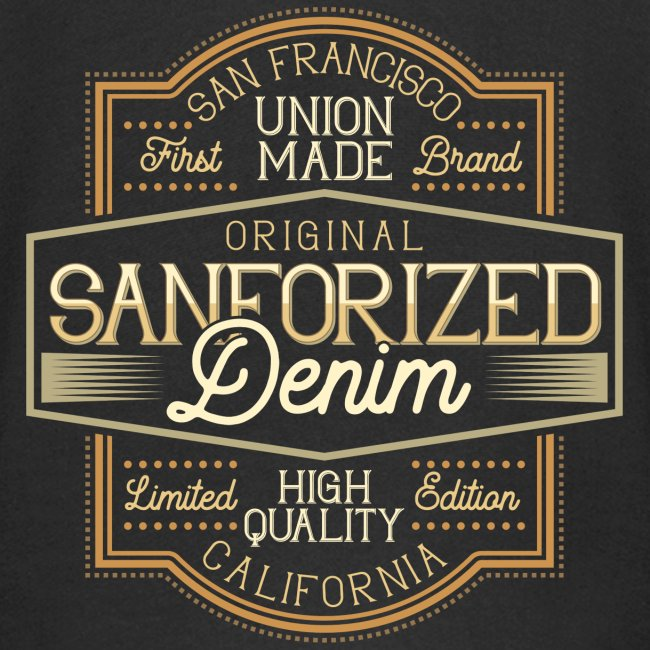 Sanforized Denim