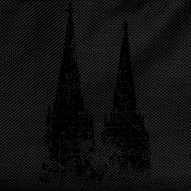 Kölner Dom (Vintage Schwarz) Köln Design