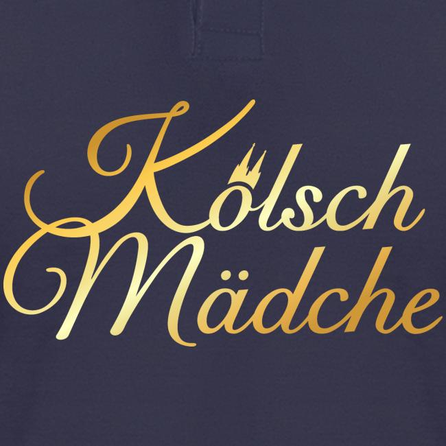 Kölsch Mädche Klassisch (Goldgelb) Kölsche Mädchen aus Köln
