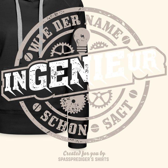 Ingenieur T Shirt Genie   Geschenkidee