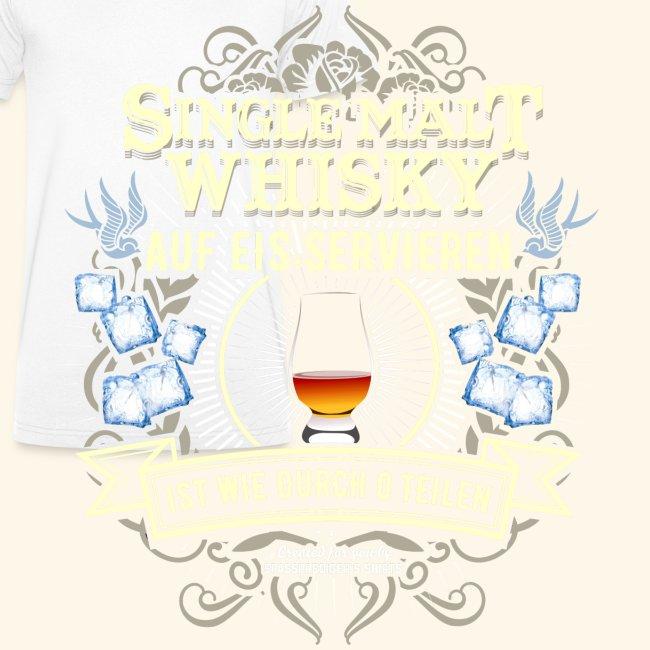 Whisky T Shirt Single Malt   das Original
