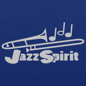 Navy jazz spirit T-Shirts - Tote Bag