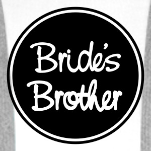 Vit Bride's brother T-shirt - Premiumluvtröja herr