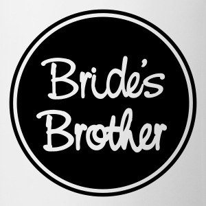 Vit Bride's brother T-shirt - Mugg