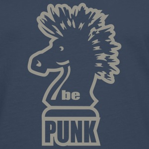 Navy be punk T-Shirts - Men's Premium Longsleeve Shirt