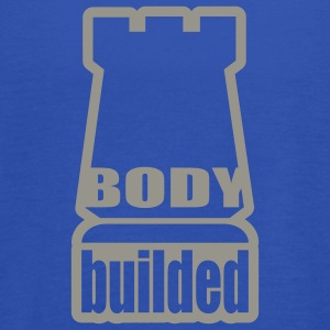 Navy body builded T-Shirts - Women's Tank Top by Bella