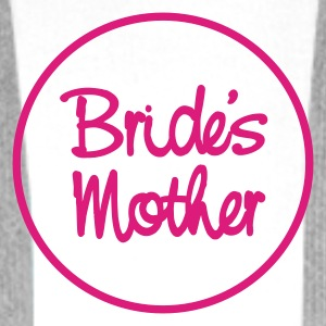 Vit/svart Bride's mother T-shirt - Premiumluvtröja herr