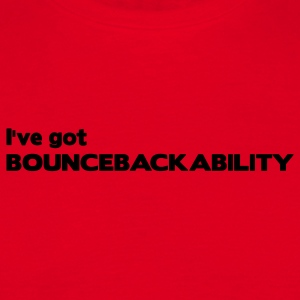 Red Bouncebackability Men's Longsleeves - Men's T-Shirt