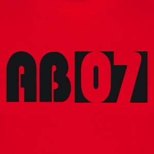 Red Ab 07 Men's Longsleeves - Men's T-Shirt