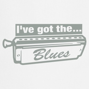 Wit Heb de blues T-Shirts - Keukenschort