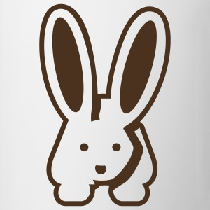 White/black Bunny 2 T-Shirts - Mug