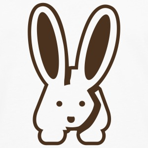 White/black Bunny 2 T-Shirts - Men's Premium Longsleeve Shirt