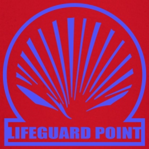 Red lifeguard point T-Shirts - Baby Long Sleeve T-Shirt