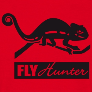 Red Fly Hunter Men's Longsleeves - Men's T-Shirt