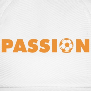 White Passion Football T-Shirts - Baseball Cap