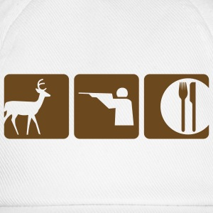 White deer food T-Shirts - Baseball Cap
