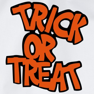 Vit Trick or treat? T-shirt - Gymnastikpåse
