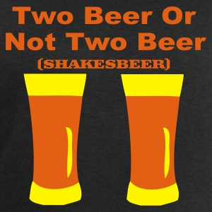 Two Beer Or Not Two Beer - Men's Sweatshirt by Stanley & Stella