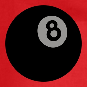Red/white 8ball T-Shirts - Drawstring Bag
