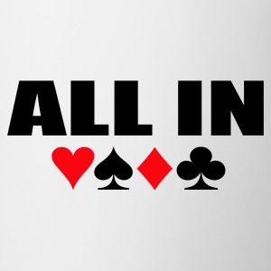 Wit All IN Heren t-shirts - Mok