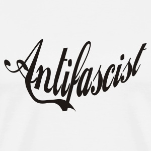 Antifascist3 - Männer Premium T-Shirt