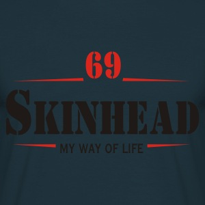 Working Class Skinhead Oi! Antiracist Bootboys My Way of life Sweat-shirts - T-shirt Homme
