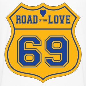 Road of the love - T-shirt manches longues Premium Homme