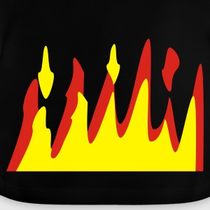 Black On Fire Juniors - Baby T-Shirt