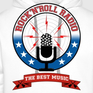 Rock 'n' Roll radio - Sweat-shirt à capuche Premium pour hommes