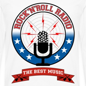 Rock 'n' Roll radio - T-shirt manches longues Premium Homme