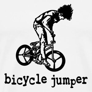 bicycle_jumper - Männer Premium T-Shirt
