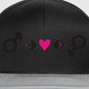 hommelovesymb Sweat-shirts - Casquette snapback