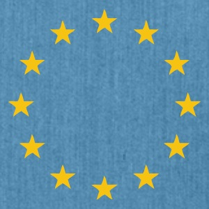 Sky blue Europe - European Union Juniors - Shoulder Bag made from recycled material