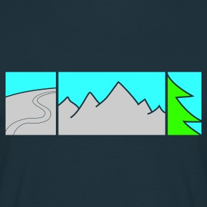 FREERIDE - Herre-T-shirt