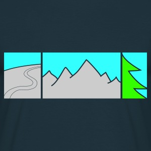 FREERIDE - T-shirt herr