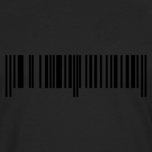 Black bar code T-Shirts - Men's Premium Longsleeve Shirt