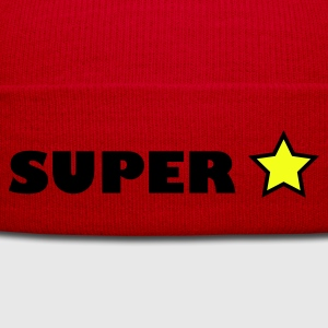 Red super star T-Shirts - Winter Hat