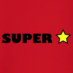 Red super star T-Shirts - Baby Long Sleeve T-Shirt