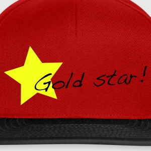 Red gold star T-Shirts - Snapback Cap