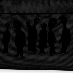 Black blob people group T-Shirts - Kids' Backpack