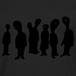 Black blob people group T-Shirts - Men's Premium Longsleeve Shirt