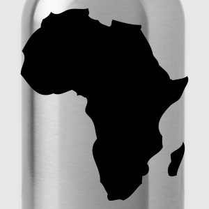 Rood Afrika Heren t-shirts - Drinkfles