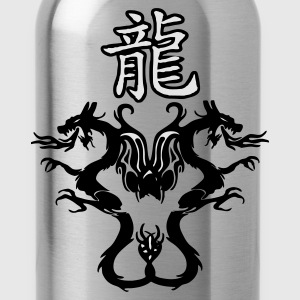 Rot chinadragon doppelmotiv Accessoires - Trinkflasche