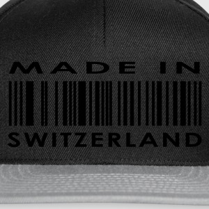 Black Made in Switzerland T-Shirts - Snapback Cap