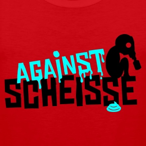 Rot against scheisse - sniffy baby T-Shirt - Männer Premium Tank Top