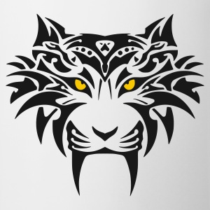 tribal tiger - Tasse