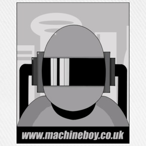 White Machine Boy - Action Figures T-Shirts - Baseball Cap