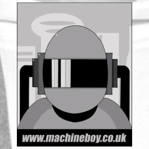White Machine Boy - Action Figures T-Shirts - Men's Premium Hoodie